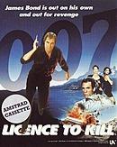 jaquette Amstrad CPC 007 Licence To Kill