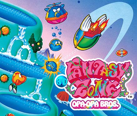 3D Fantasy Zone - Opa-Opa Bros.