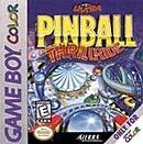 jaquette Gameboy 3D Ultra Pinball Thrillride