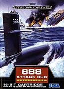 jaquette Megadrive 688 Attack Sub