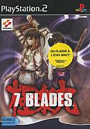 jaquette PlayStation 2 7 Blades