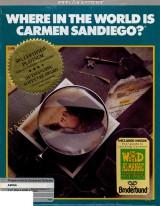 jaquette Amiga A La Poursuite De Carmen Sandiego Dans Le Monde