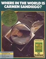 jaquette Commodore 64 A La Poursuite De Carmen Sandiego Dans Le Monde
