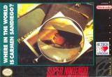 jaquette Super Nintendo A La Poursuite De Carmen Sandiego Dans Le Monde