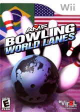 jaquette Wii AMF Bowling World Lanes