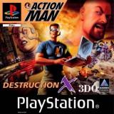jaquette PlayStation 1 Action Man Destruction X