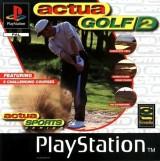 jaquette PlayStation 1 Actua Golf 2