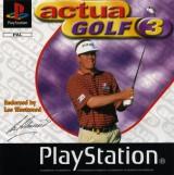 jaquette PlayStation 1 Actua Golf 3
