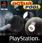jaquette PlayStation 1 Actua Pool