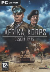 jaquette PC Afrika Korps Vs. Desert Rats