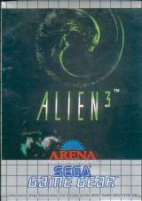 jaquette Game Gear Alien 3