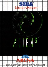 jaquette Master System Alien 3