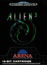 jaquette Megadrive Alien 3