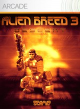 jaquette Xbox 360 Alien Breed 3 Descent