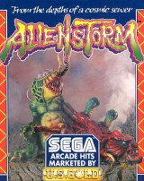jaquette Commodore 64 Alien Storm