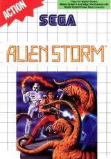 jaquette Master System Alien Storm