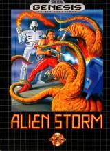 jaquette Megadrive Alien Storm
