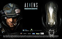 aliens colonial marines wallpaper wide