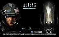 aliens colonial marines wallpaper wide