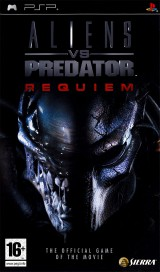 jaquette PSP Aliens Vs Predator Requiem