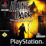 jaquette PlayStation 1 Alone In The Dark The New Nightmare