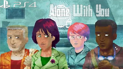 jaquette PlayStation 4 Alone With You
