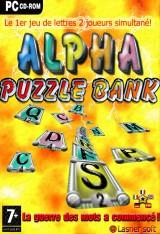 jaquette PC Alpha Puzzle Bank
