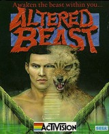 jaquette Commodore 64 Altered Beast
