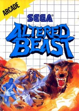 jaquette Master System Altered Beast