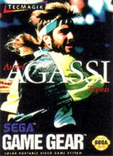 jaquette Game Gear Andre Agassi Tennis