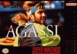 jaquette Super Nintendo Andre Agassi Tennis