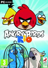 jaquette PC Angry Birds Rio