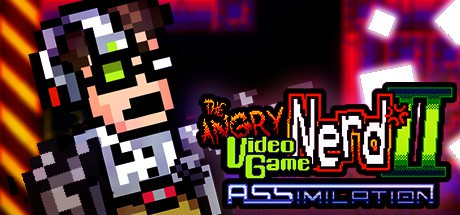 jaquette PC Angry Video Game Nerd II ASSimilation