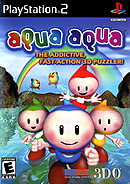 jaquette PlayStation 2 Aqua Aqua