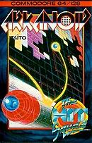 jaquette Commodore 64 Arkanoid