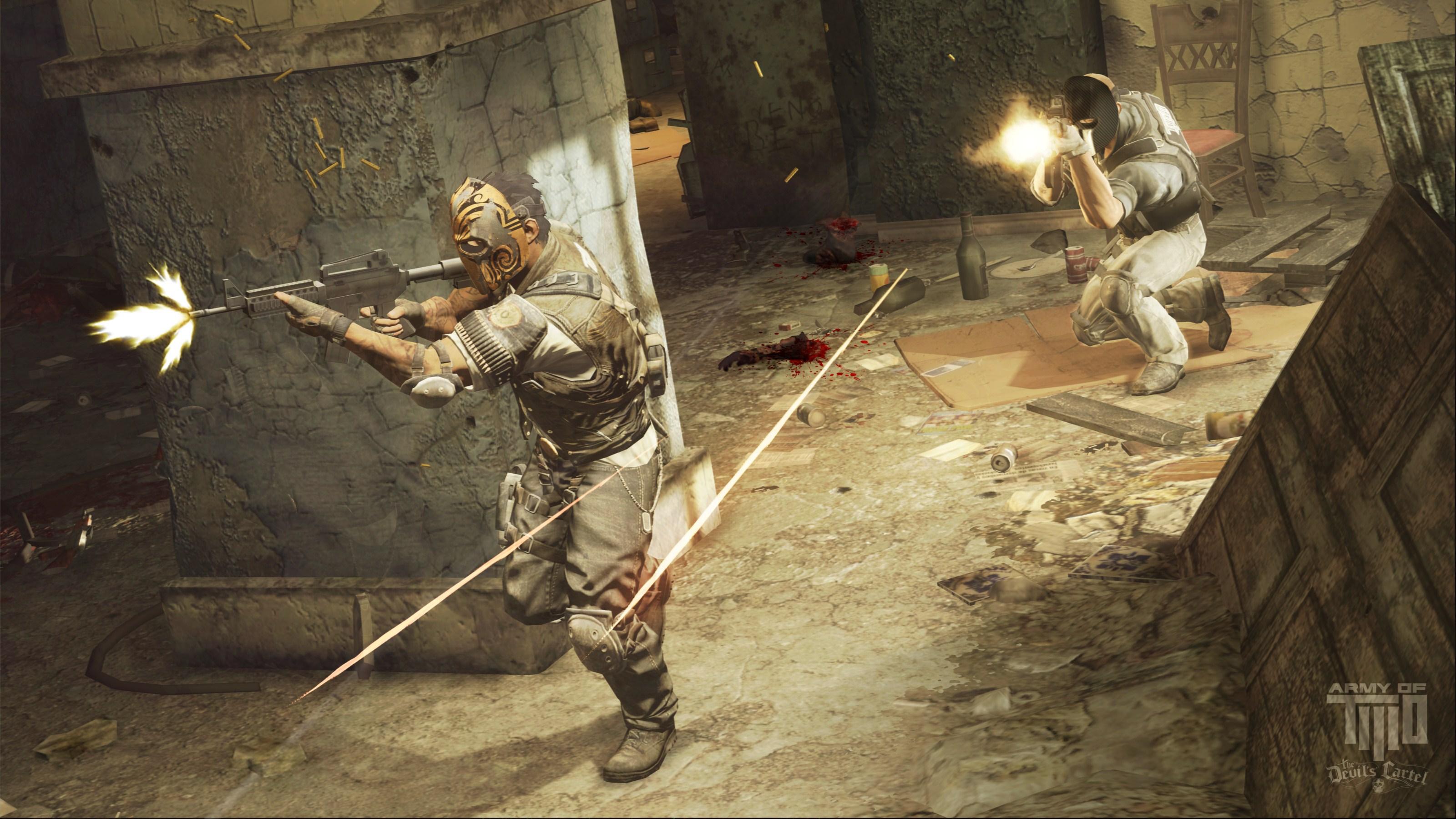 Voir toutes les captures d'écran de Army of Two : Le Cartel du Diable