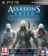 jaquette PlayStation 3 Assassin s Creed Heritage Collection