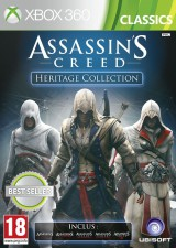 jaquette Xbox 360 Assassin s Creed Heritage Collection