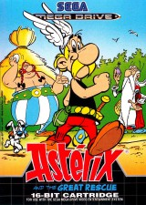 jaquette Megadrive Asterix And The Great Rescue