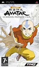 jaquette PSP Avatar Le Dernier Maitre De L Air
