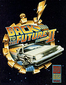 jaquette Amstrad CPC Back To The Future Part II
