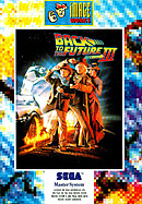 jaquette Master System Back To The Future Part III