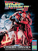 jaquette Megadrive Back To The Future Part III