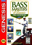 jaquette Megadrive Bass Masters Classic Pro Edition