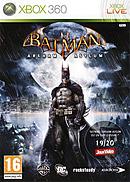 jaquette Xbox 360 Batman Arkham Asylum