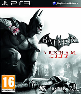 jaquette PlayStation 3 Batman Arkham City