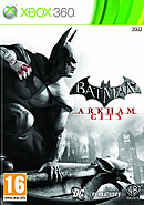 jaquette Xbox 360 Batman Arkham City