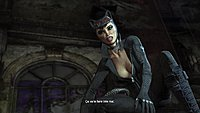 Batman Arkham City screenshot catwoman 1