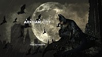 Batman Arkham City screenshot start
