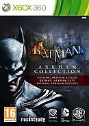 jaquette Xbox 360 Batman Arkham Collection
